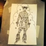 Hula Boy Sketch