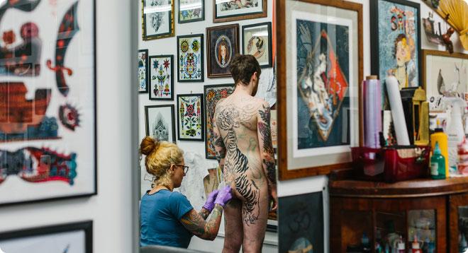 Claudia de Sabe Tattoo London