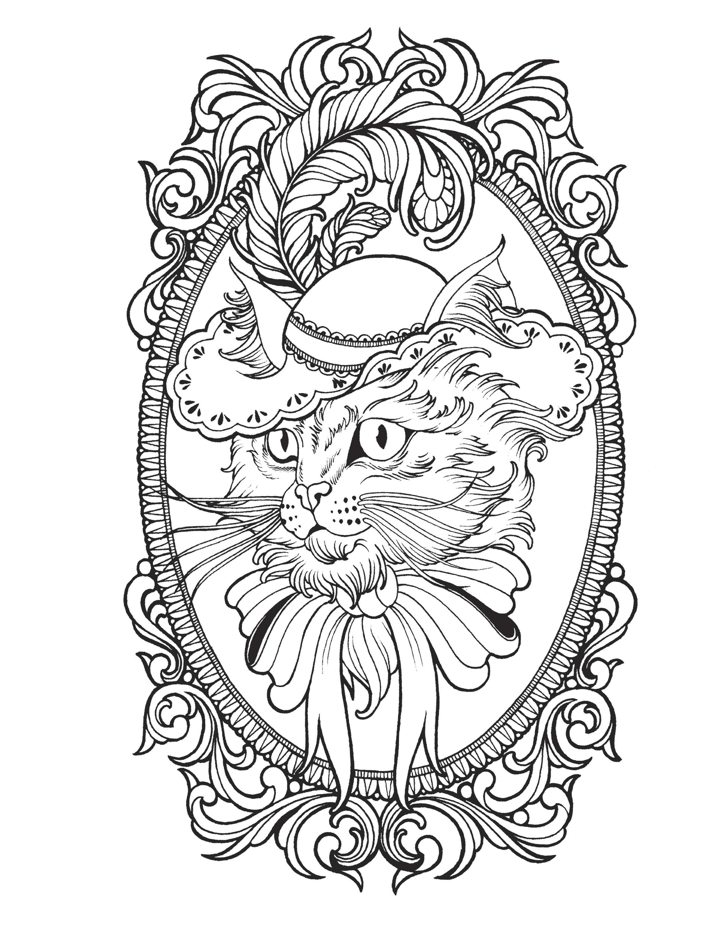 It is a picture of Tactueux Tattoo Coloring Page